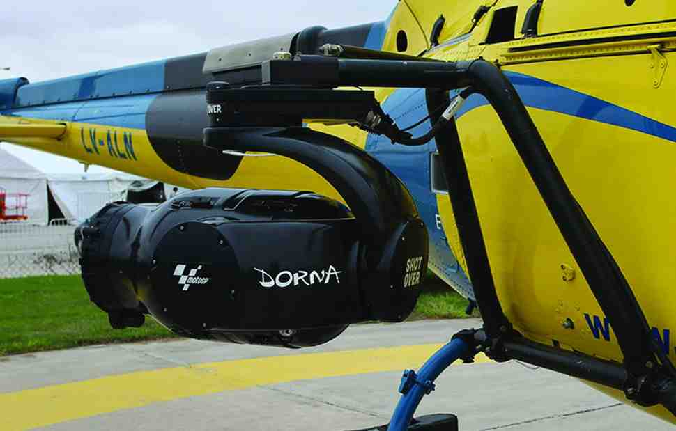 MotoGP: Dorna Sports планирует заменить телевизионный вертолет армией дронов?
