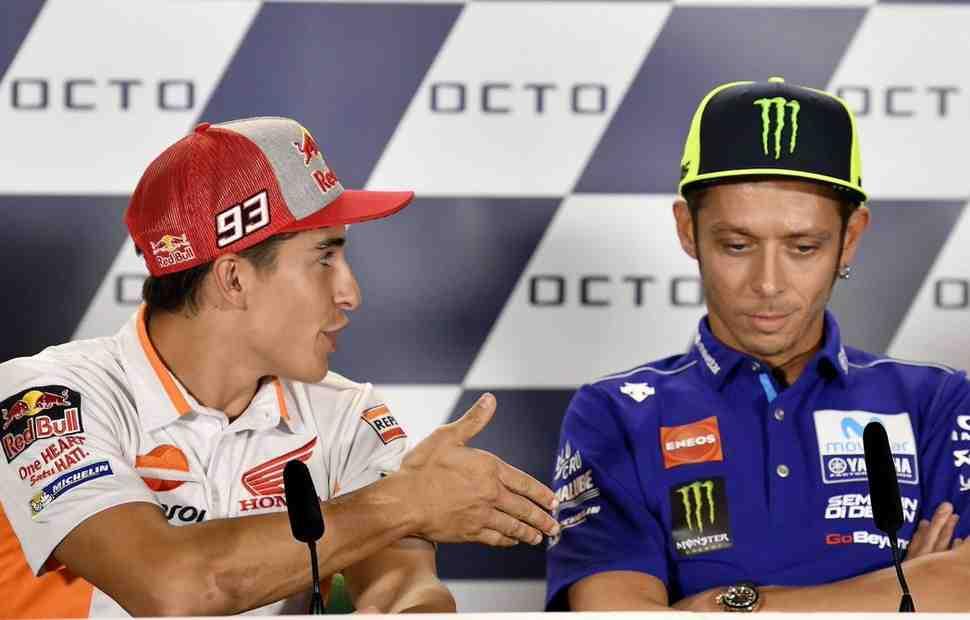 MotoGP: Валентино Росси - О первом опыте езды на мотоцикле по треку и примирении с Маркесом
