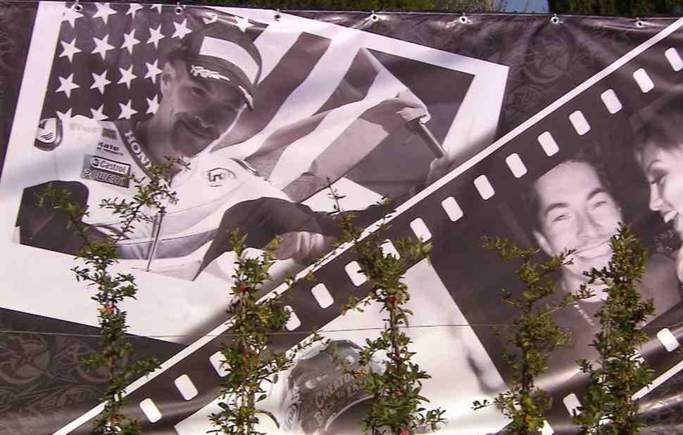 MotoGP/WSBK: Мемориальный сад Никки Хейдена торжественно открыт в Мизано