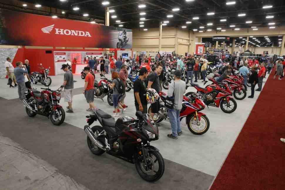 Honda выбрала американское мотошоу 2019 AIMExpo для анонса нового модельного ряда