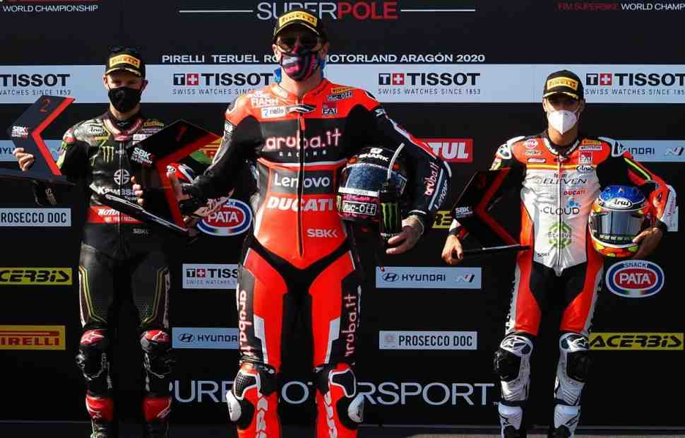 WSBK: ������� ������������ � ���������� Superpole Race �������, ��� ����� �������� 4-�