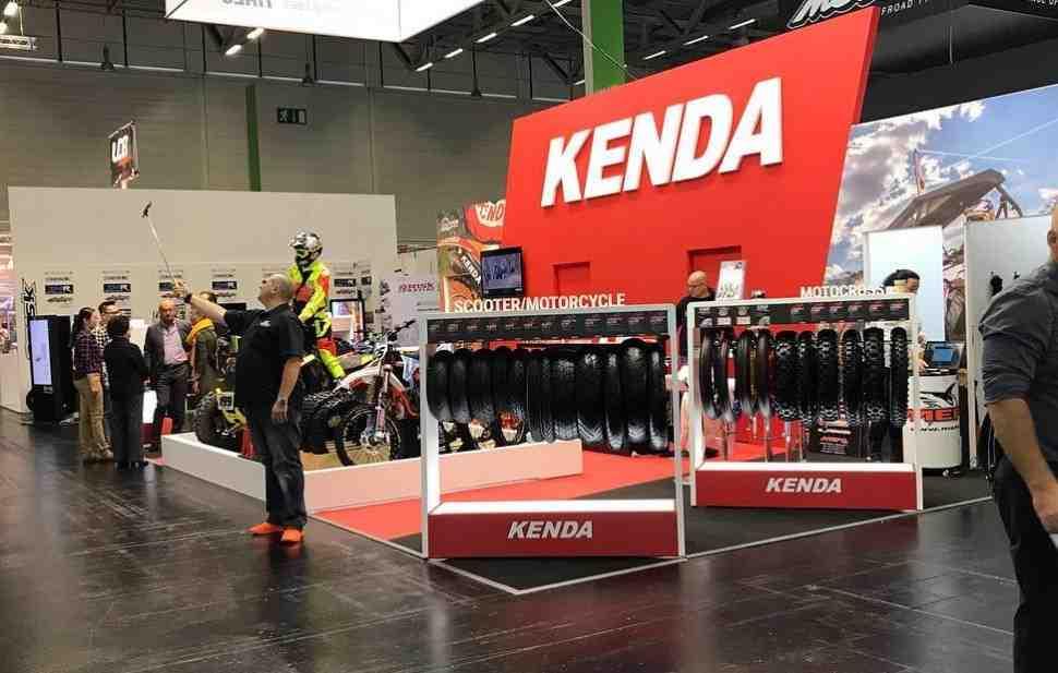 Intermot-2018: KENDA - новинки шинной индустрии в Кёльне для мотокросса, эндуро, триала