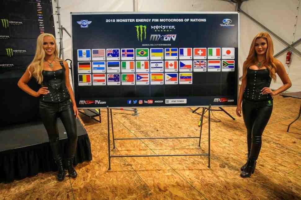 Мотокросс Наций 2018: итоги жеребьевки - американцы взяли курс на победу