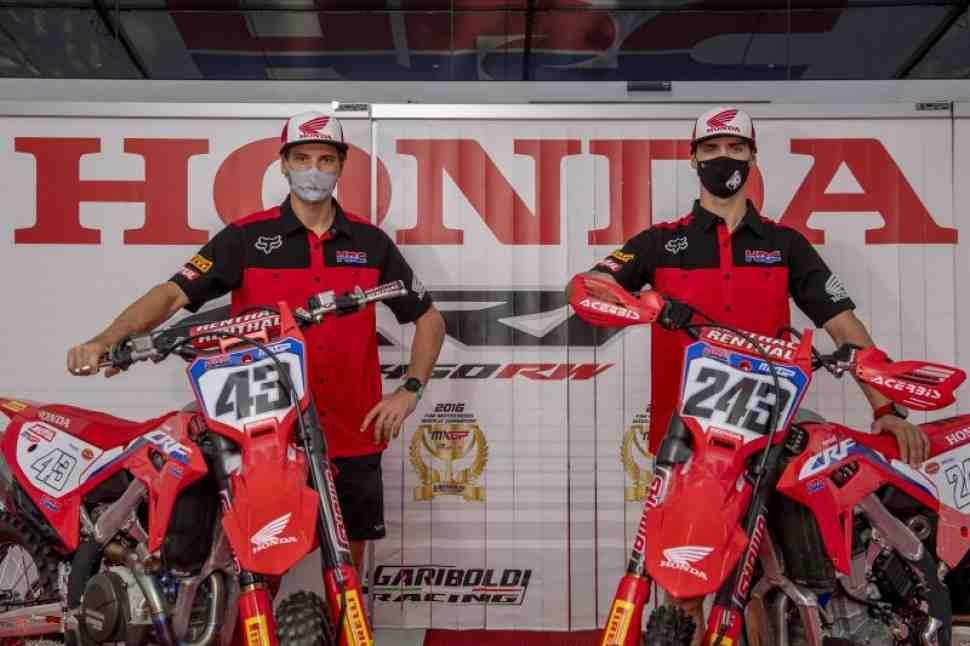 Мотокросс MXGP: Honda продлила контракты с Тимом Гайзером и Митчем Эвансом