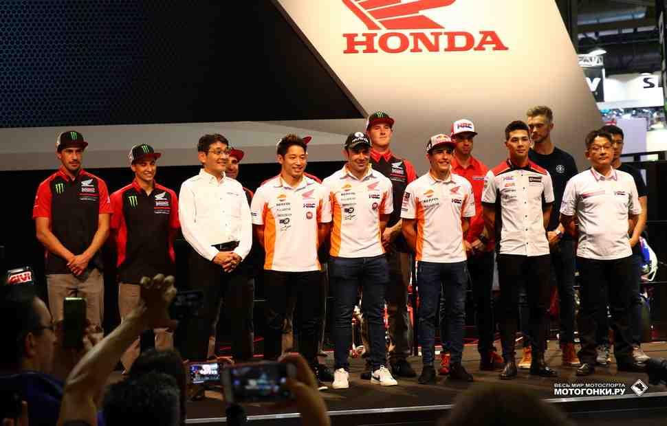 Мотокросс/суперкросс: Honda представила заводских пилотов MXGP и AMA SX 2019