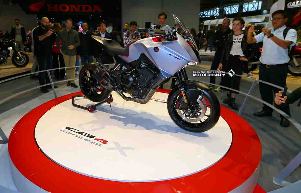Honda CB4X Concept - конкурент кроссоверам Yamaha и BMW представлен на EICMA-2019