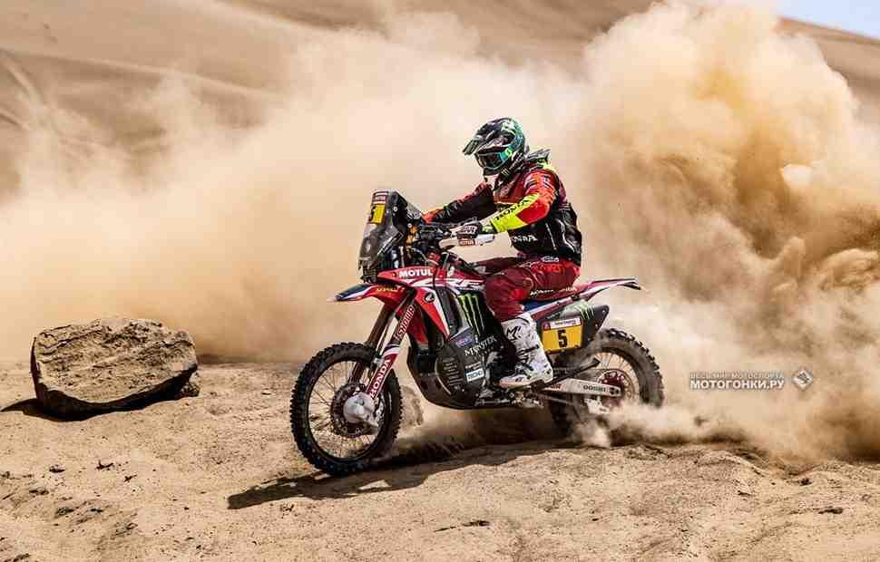 Honda берет первую победу на ралли Дакар 2019