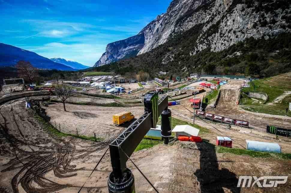 Мотокросс: видео квалификаций Гран-При Трентино MXGP/MX2