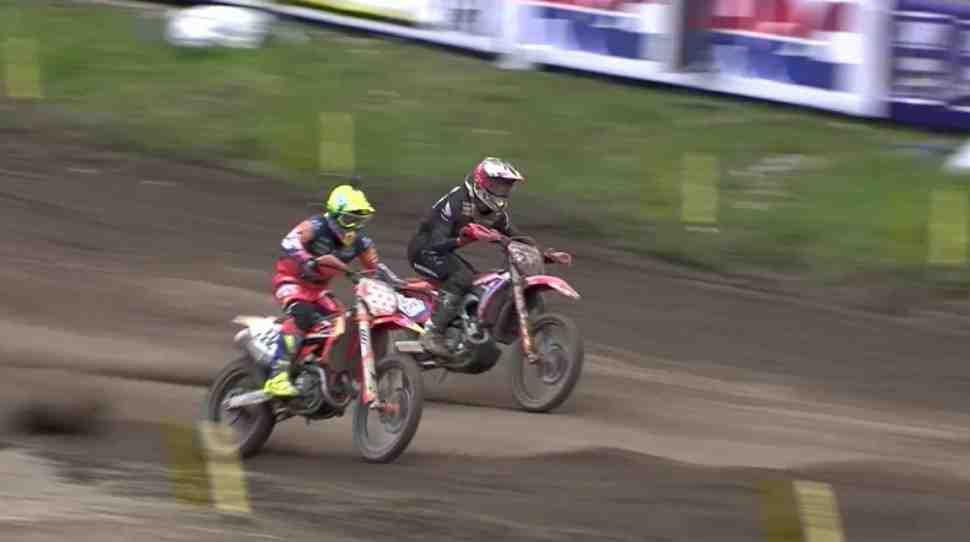 Мотокросс MXGP: Гран-При Трентино - Гайзер выигрывает у Кайроли на его территории