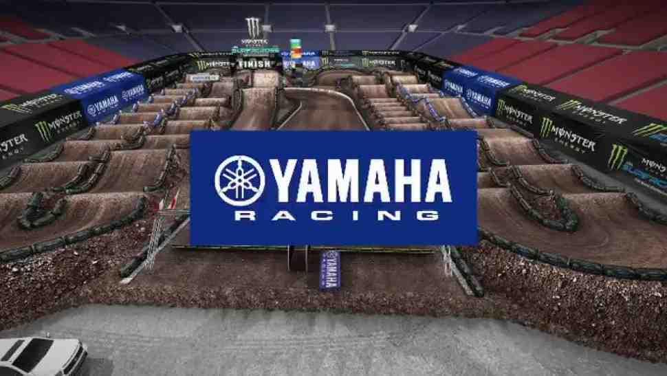 Анимация новой трассы в Солт-Лейк-Сити для 13-го этапа AMA Supercross
