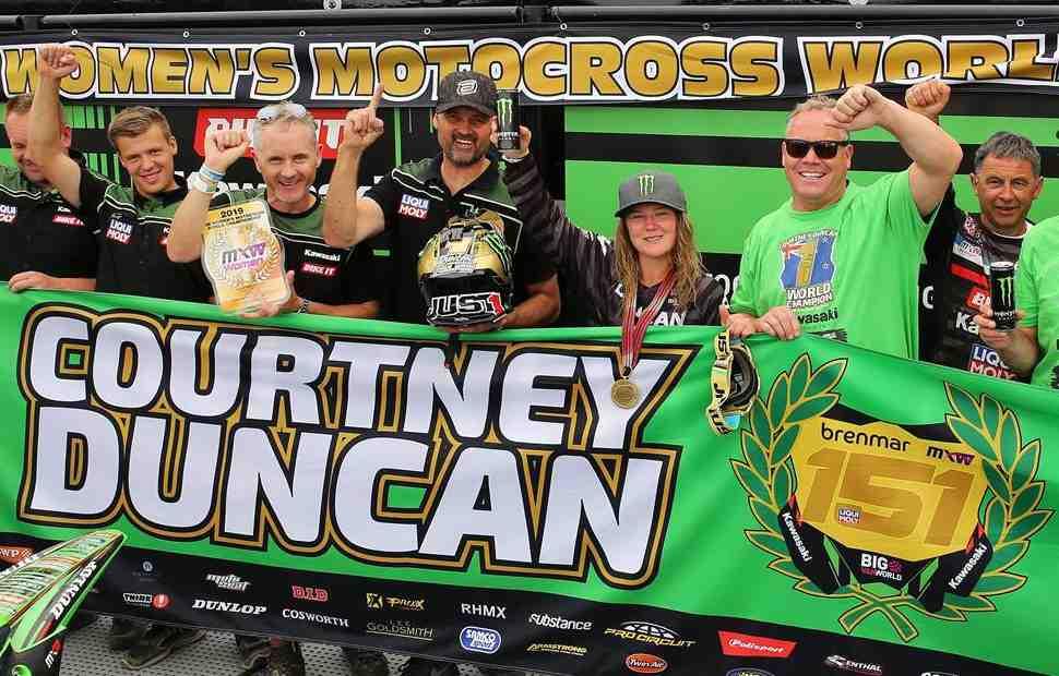 Чемпионка мира по мотокроссу Кортни Данкан названа спортсменкой года в Новой Зеландии