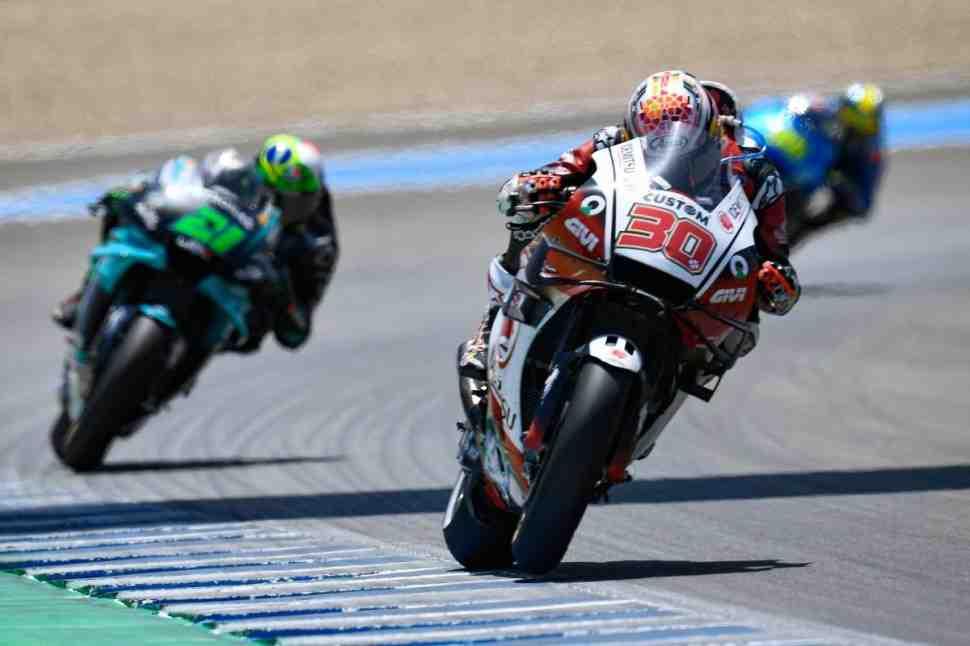 MotoGP: Такааки Накагами из LCR Honda возглавил FP1 CzechGP