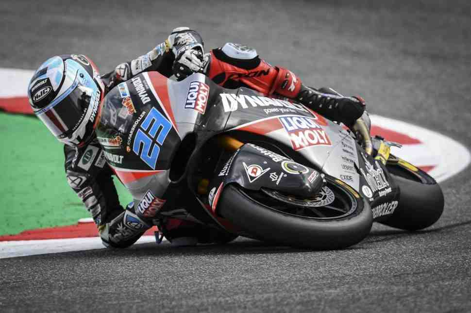 Moto2 - SanMarinoGP: результаты пятницы, FP2
