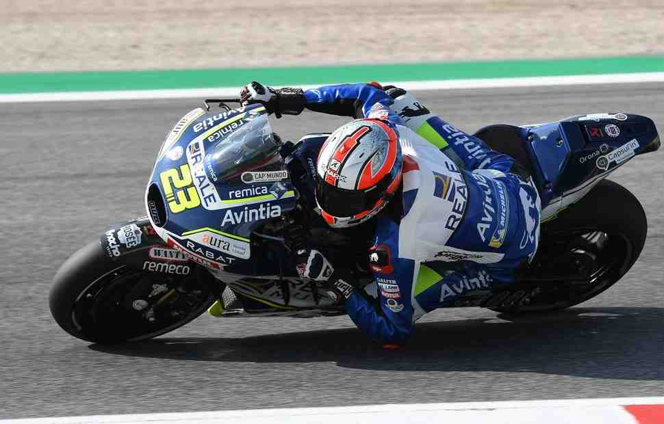 MotoGP - SanMarinoGP: Заводские Ducati в TOP-4, Маркес и Росси не попали в TOP-10 после FP1