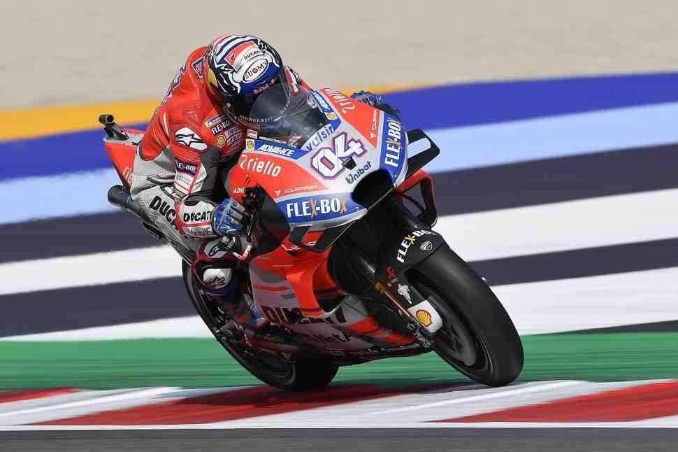 MotoGP: Андреа Довициозо - Это был очень странный день в Мизано