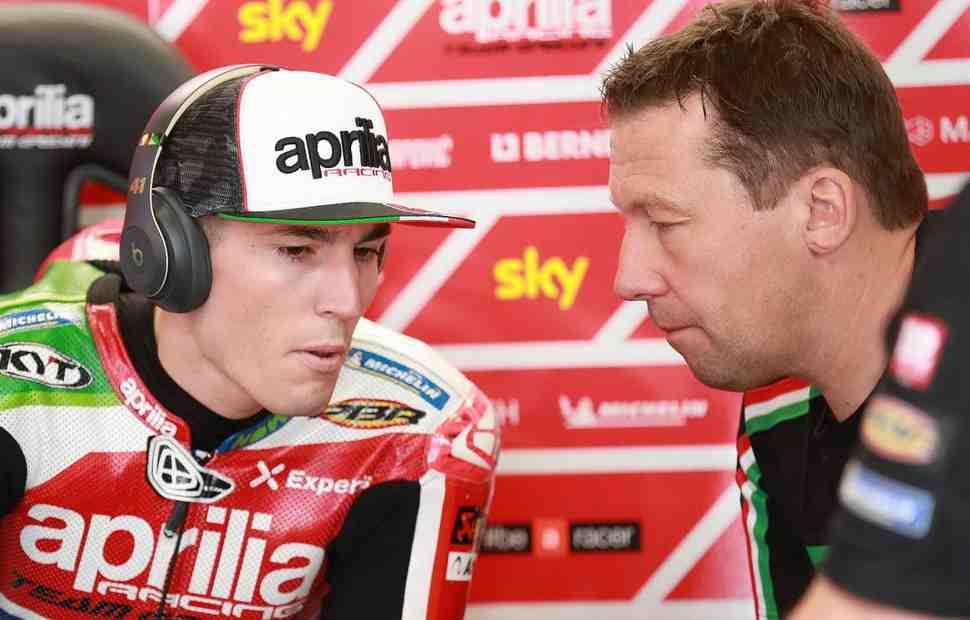 MotoGP: Aprilia Racing досрочно уволила Маркуса Эшенбахера из команды Алеша Эспаргаро
