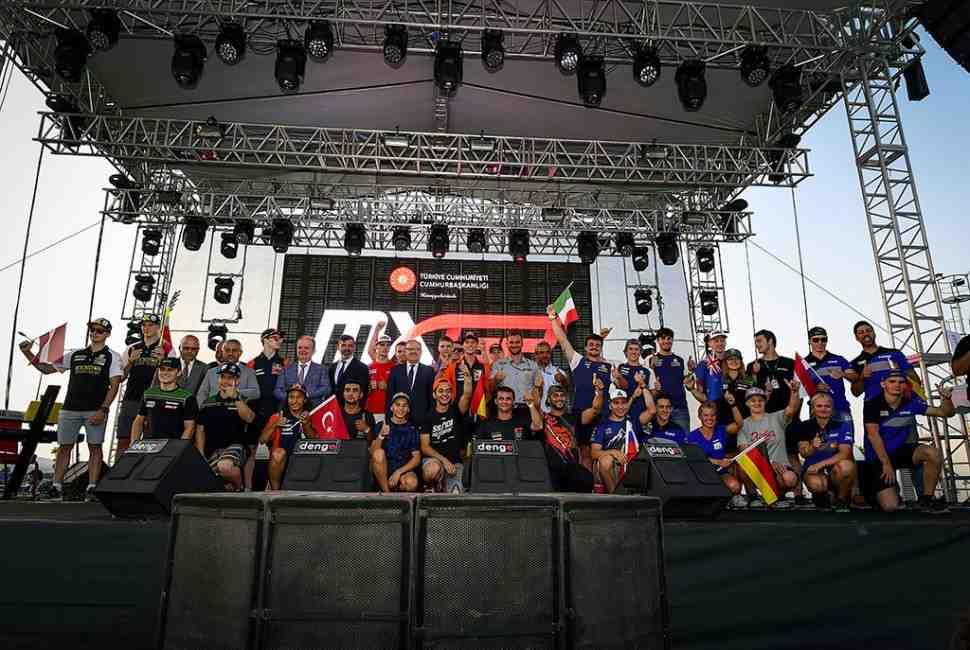 Мотокросс: видео и результаты квалификации Гран-При Турции MXGP/MX2