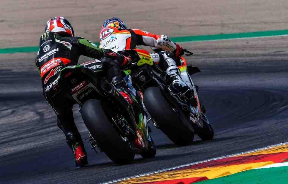 WSBK: �������� ��� - Kawasaki ��-�������� ����������� ����� Ducati