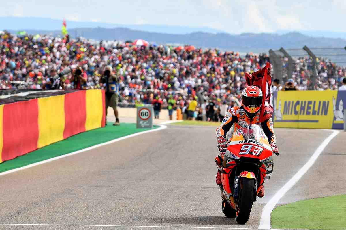 MotoGP: Motorland Aragon как второй Sachsenring - время для нового Шоу Маркеса