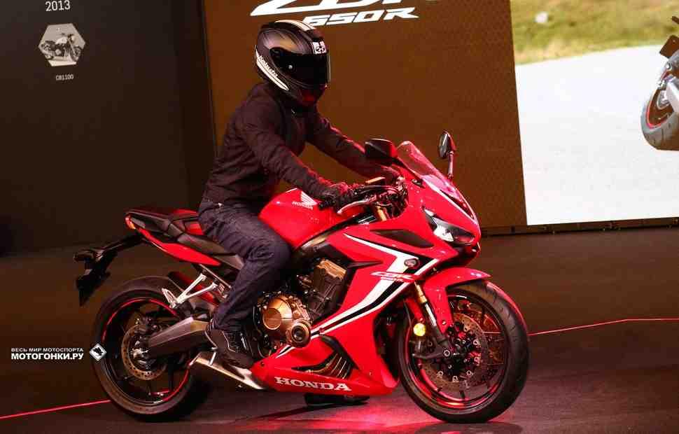 EICMA-2018: Honda CB650R и CBR650R (2019) - Первые впечатления