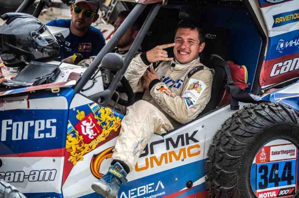 Сергей Карякин вошел в тройку лидеров по итогам второго дня ралли Дакар 2019