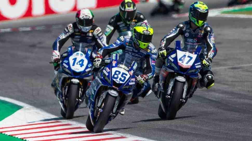 ��������� Yamaha R3 bLU cRU FIM European Cup � ������ World Superbike 2020 - ����������� �������!
