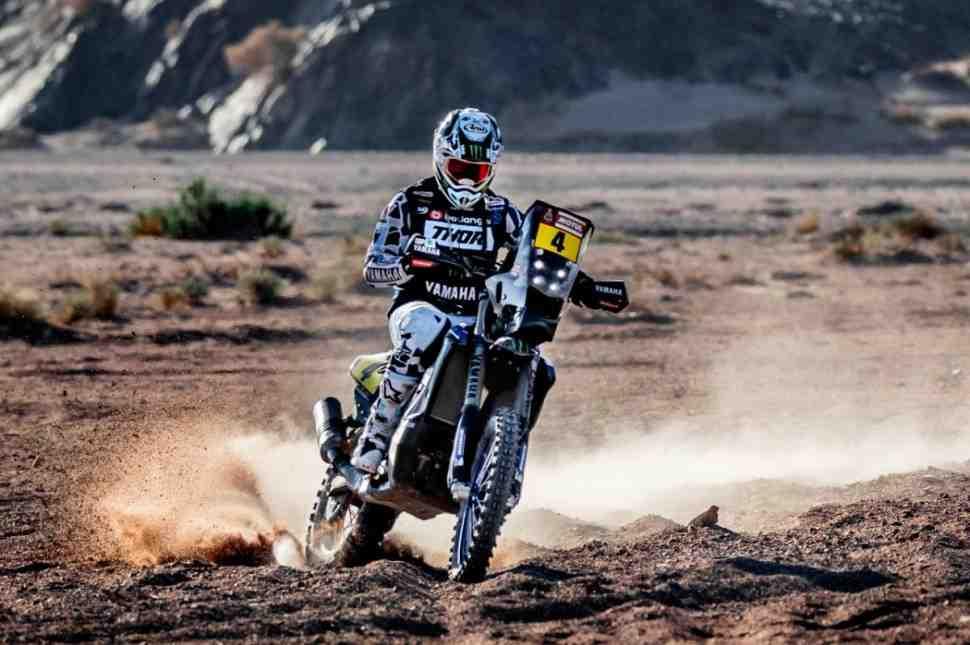 Заводская команда Yamaha несет потери на ралли Дакар-2020
