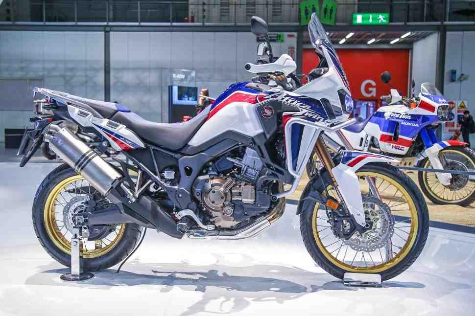 Honda Africa Twin нарастит мускулы в 2020 году