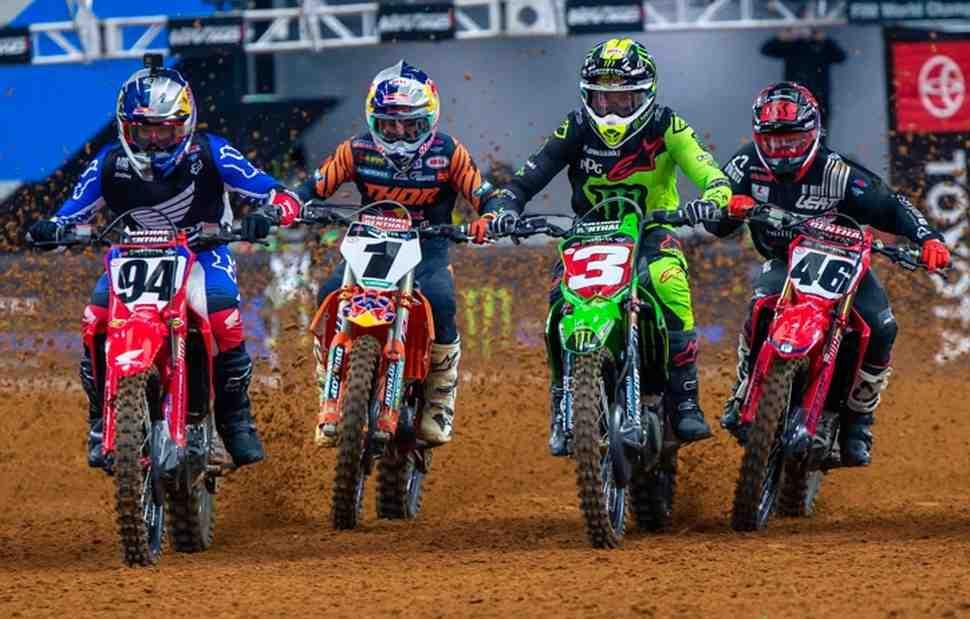AMA Supercross: Видео - главная гонка 10-го этапа 450SX, Daytona