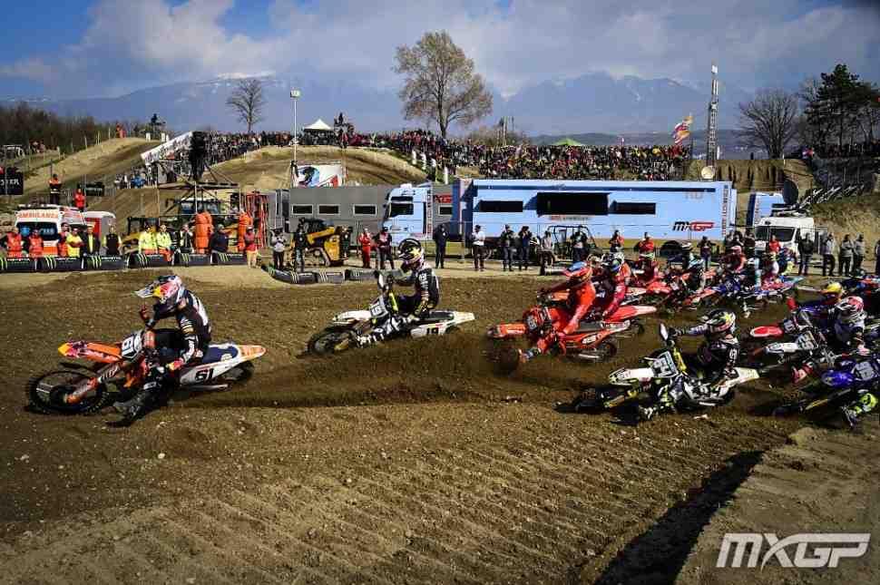 Мотокросс: видео Гран-При Трентино-Италии MXGP/MX2