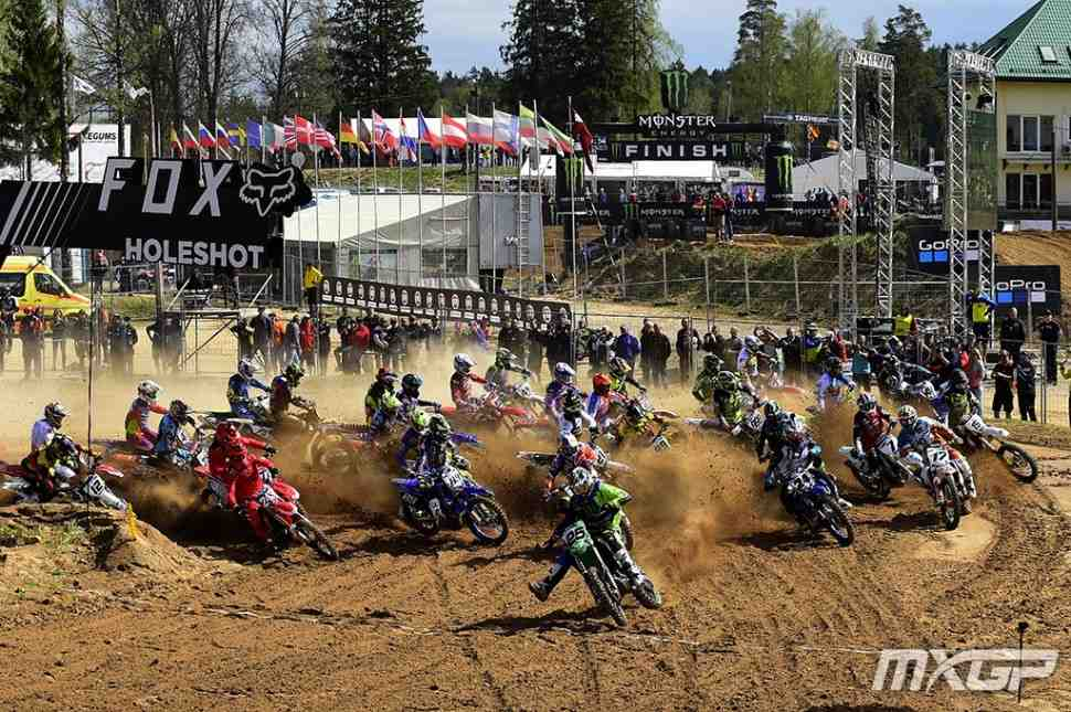 Мотокросс: участники и расписание Гран-При Латвии MXGP/MX2