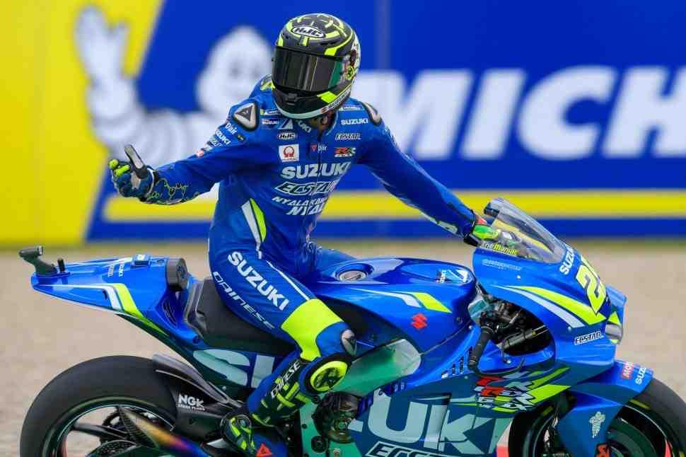 Suzuki Ecstar MotoGP попрощалась с Янноне и пообещала назвать состав в ближайшие дни