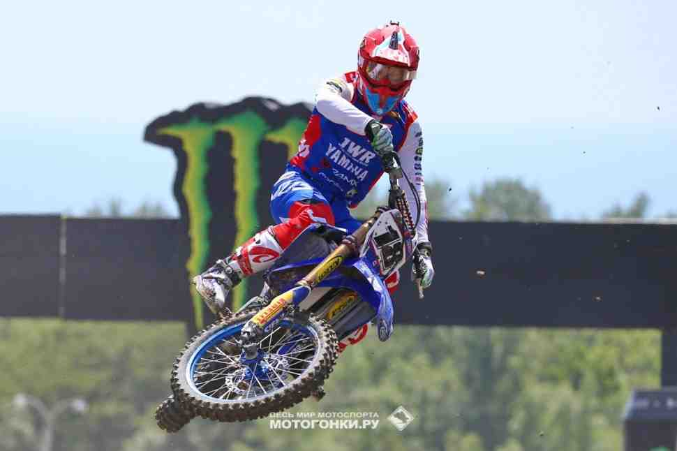Мотокросс: круг по трассе Гран-При России MXGP вместе с Брыляковым - видео