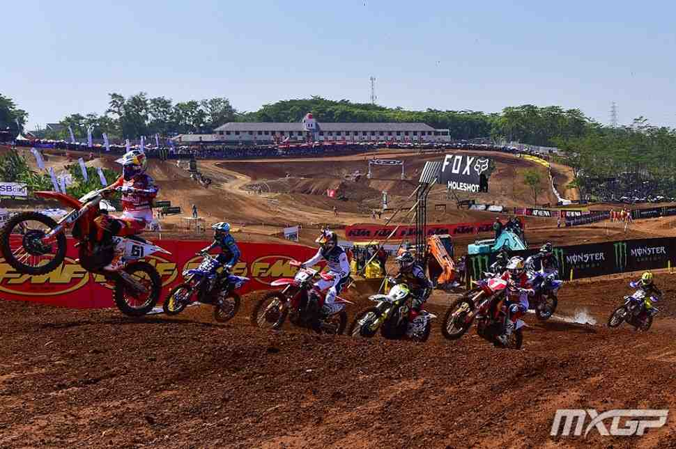 Мотокросс: видео 13 этапа ЧМ, Гран-При Азии MXGP/MX2