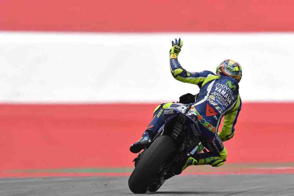 MotoGP: В Red Bull Ring на этот раз Валентино Росси надеется быть конкурентоспособней
