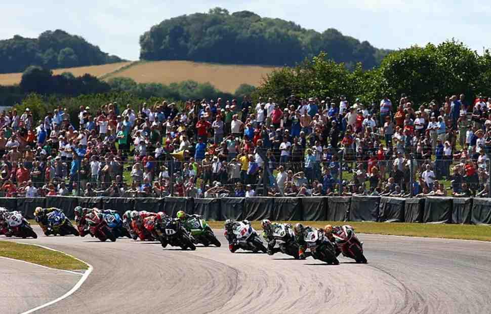 ���� BSB � Thruxton ����� ������ ������������ ������������� ������ World Superbike