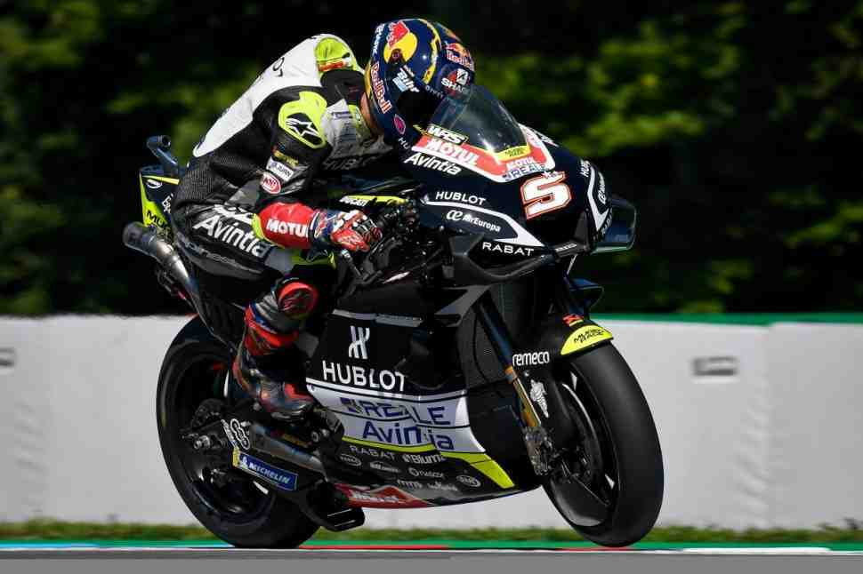 Сенсация: Зарко, Куартараро и Морбиделли стартуют с первой линии в Гран-При Чехии по MotoGP