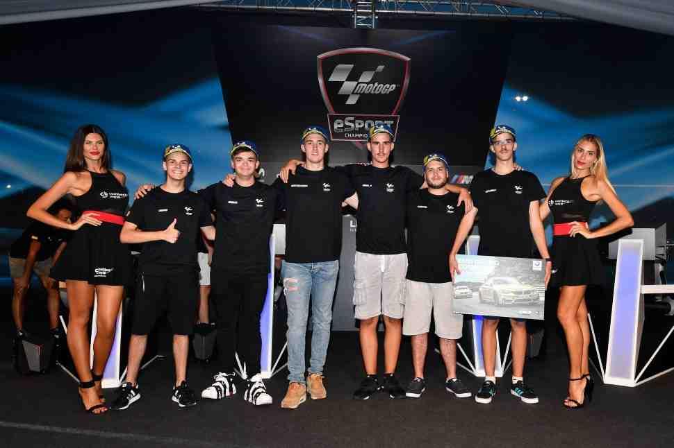В Мизано состоялся 1й полуфинал MotoGP eSports