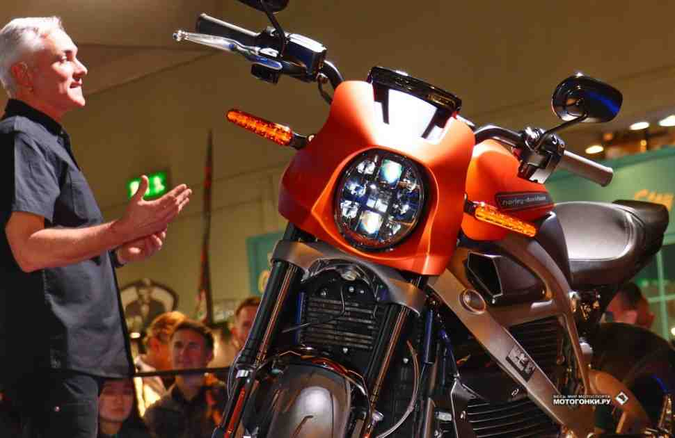 EICMA-2018: Give it Revolution! - Harley-Davidson представил серийный электромотоцикл LiveWire
