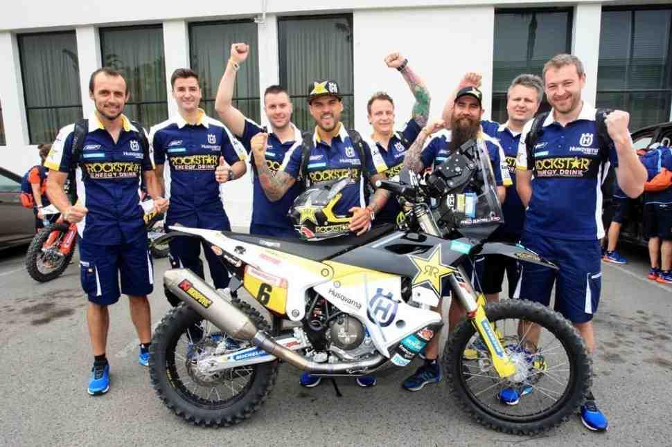 На Дакар 2019 смена лидера: Yamaha выигрывает этап в Арекипе, Husqvarna выходит на 1 позицию