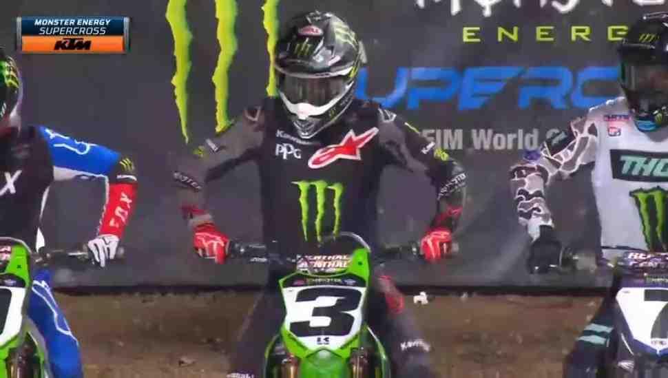 AMA Supercross: Видео решающей гонки 450SX в Сан-Диего