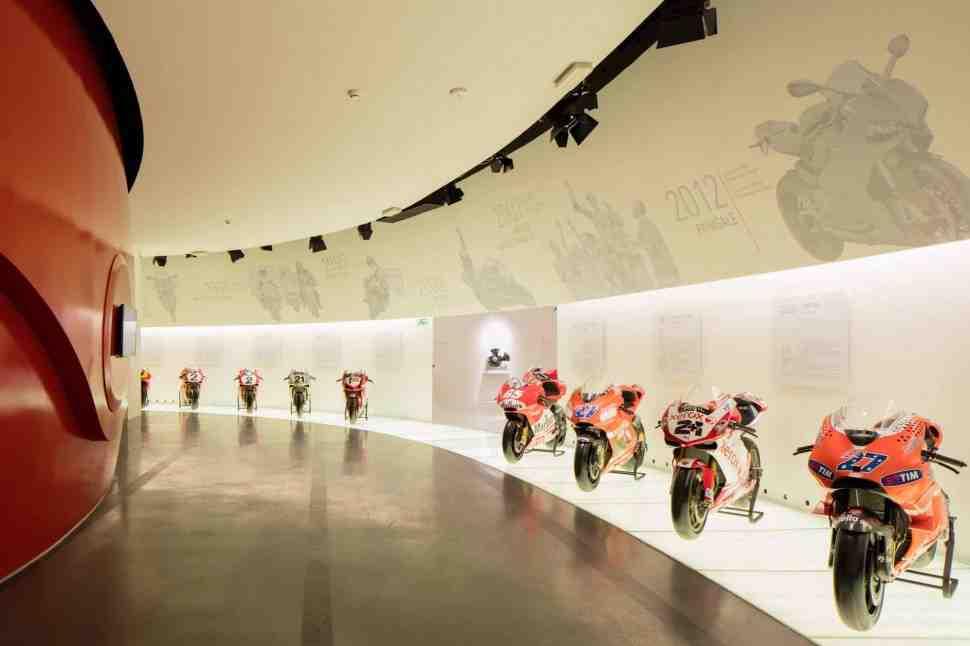 Виртуальный тур по музею Ducati в Борго-Панигале