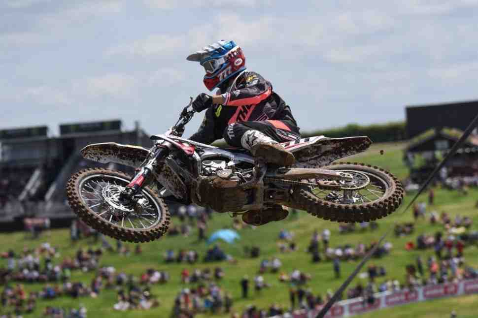 Мотокросс: Бобрышев 6-й в квалификации - результаты Гран-При Франции MXGP/MX2