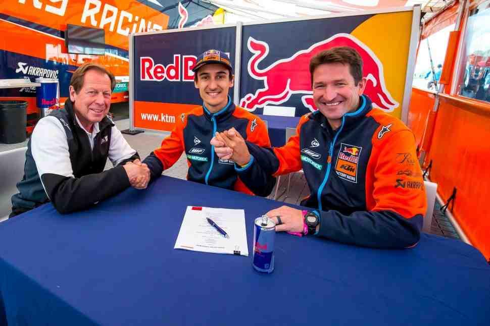 AMA Motocross: Марвин Мюскен с KTM до 2022 года