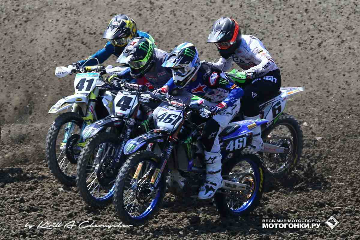 Мотокросс: накануне Гран-При России MXGP 2021 - видео