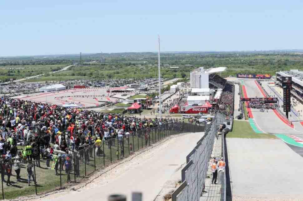 Американский тур MotoGP 2020 отменен: автодром Circuit of the Americas закрыт до конца года
