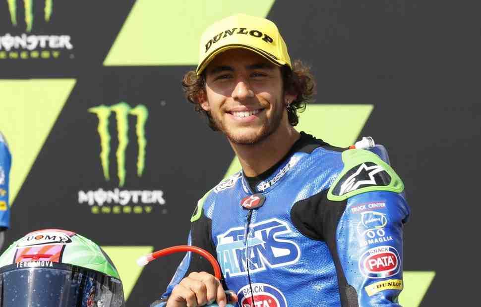 Бастианини выигрывает CzechGP и выходит в лидеры Moto2