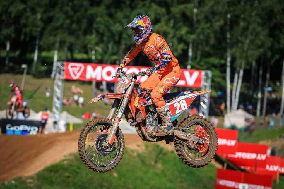 Мотокросс MXGP/MX2: первые заезды Гран-При Латвии