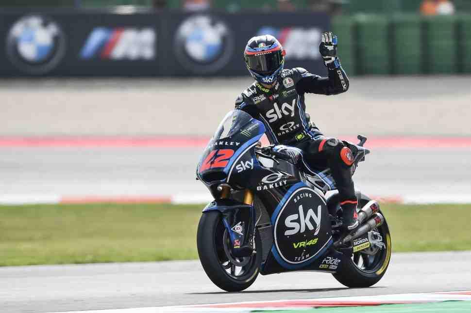 Moto2: Багная одерживает убедительную победу в своем 99-м Гран-При