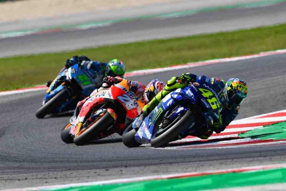 MotoGP: Валентино Росси - Вчерашние настройки вообще не сработали на гонке